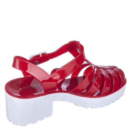 Bamboo Rede/White Sandals