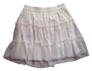 American Eagle Outfitters Skirt Creme