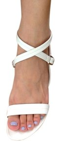 Narciso Rodriguez White Sandals