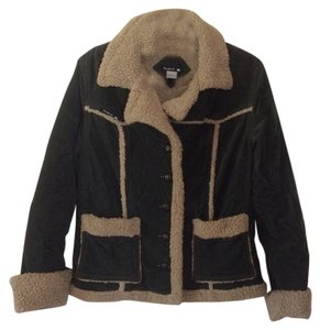 Frankie B Warm Corduroy Fur Coat