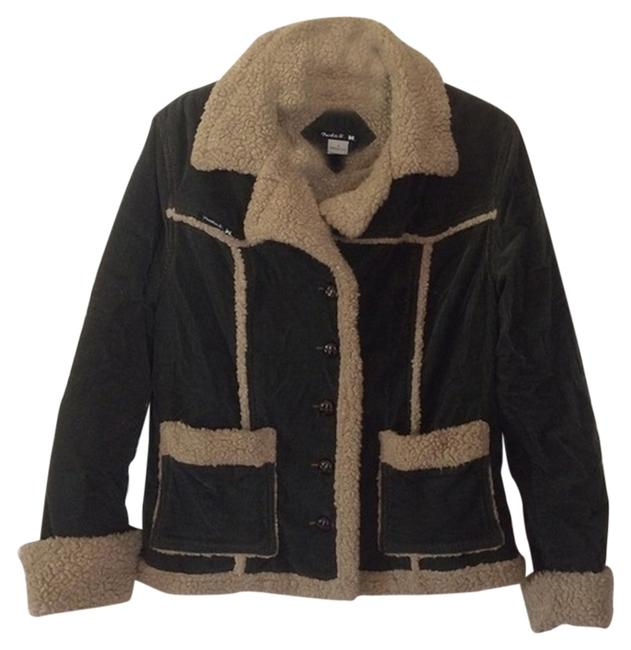 Frankie B Warm Corduroy Comfortable Fur Coat