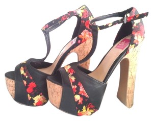Dolce Vita Multi-Color Platforms