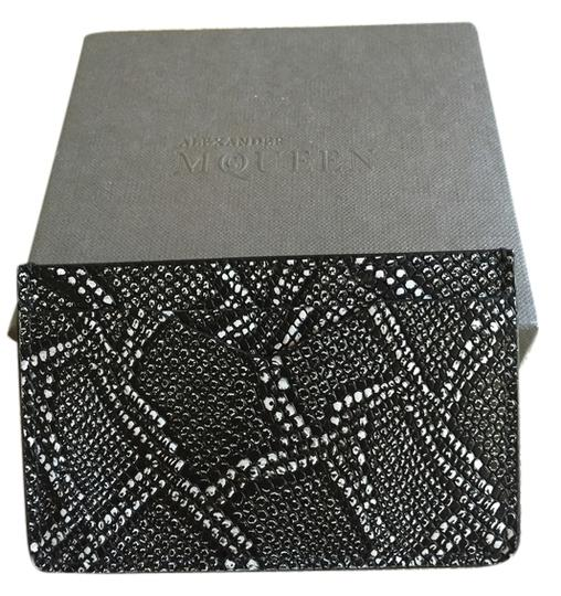 Alexander McQueen Alexander McQueen card case. Comes with cover and box.
