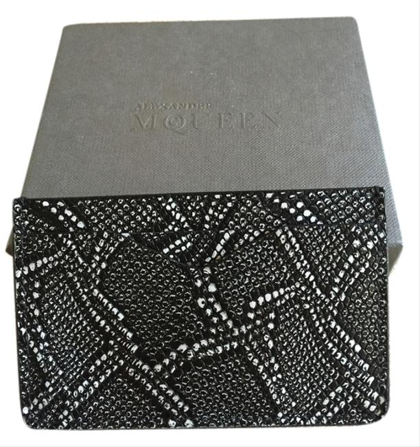 Item - Gray/Black Box Card Case. Comes with Cover and Box. Wallet