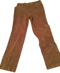 Dress Barn Corduroy Boot Cut Boot Cut Pants Brown