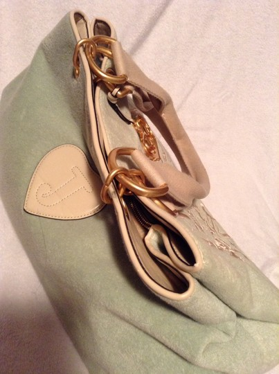Juicy Couture Tote in Pastel mint green