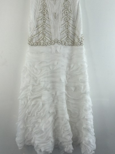 Sue Wong White Wedding Dress Size 4 (S)