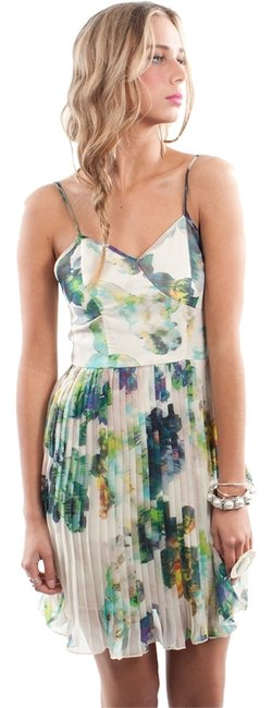 Preload https://img-static.tradesy.com/item/4164196/bb-dakota-blue-floral-monique-pleated-chiffon-mid-length-short-casual-dress-size-2-xs-0-0-650-650.jpg