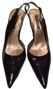 Nine West Black Patent Leather Pumps