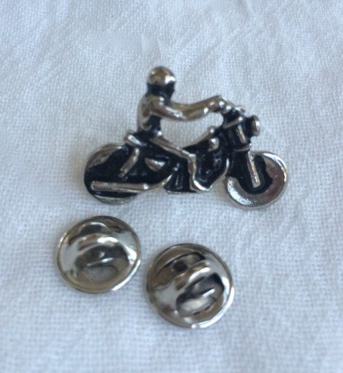 Other Motorcycle Rider Lapel Pin