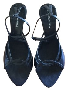 BCBGMAXAZRIA Ankle Straps Black Sandals