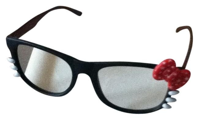 Item - Bk/Red Multi Cute Nerd Glass (No Lens) (Nwot)