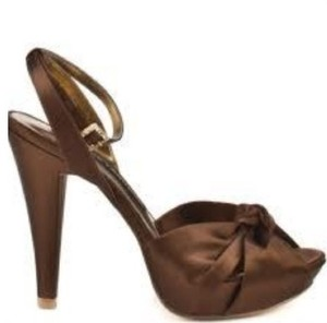 Chinese Laundry Brown Wedge Pumps Size US 10