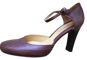 Via Spiga Leather New Never Worn Pump Brown Pumps