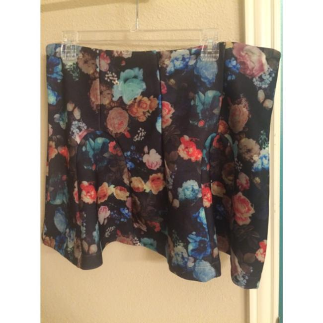 Mossimo Supply Co. Mini Skirt Black floral multi