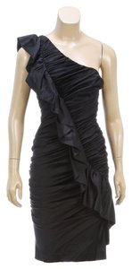 Nicole Miller short dress Black on Tradesy