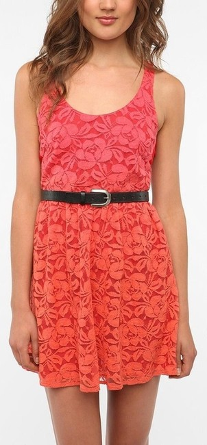 Preload https://item3.tradesy.com/images/urban-outfitters-redorange-mid-length-short-casual-dress-size-4-s-4166152-0-0.jpg?width=400&height=650