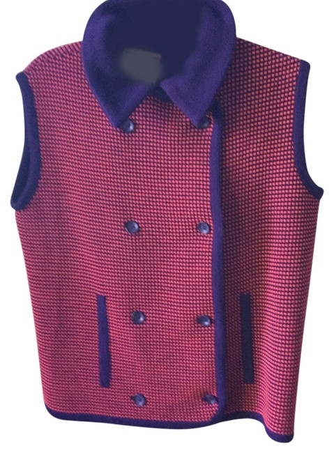 Preload https://img-static.tradesy.com/item/4166188/orange-purple-italian-knit-wool-made-in-italy-for-vest-size-10-m-0-0-650-650.jpg