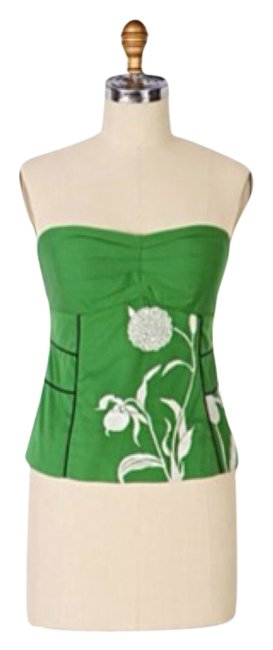 Preload https://item4.tradesy.com/images/anthropologie-green-tank-topcami-size-2-xs-4166233-0-0.jpg?width=400&height=650
