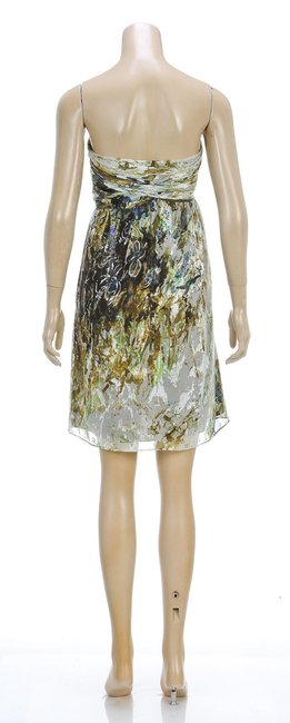 Nancy Rose short dress Green Multicolor on Tradesy