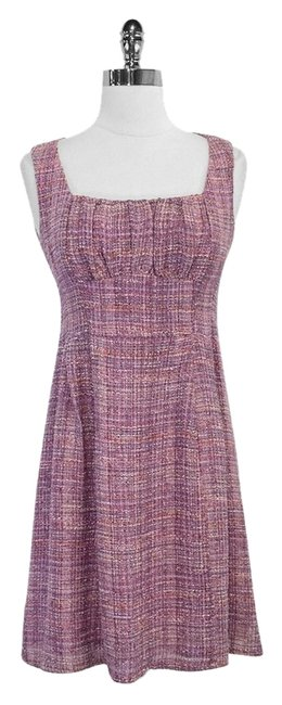 Preload https://img-static.tradesy.com/item/4166509/nanette-lepore-purple-tweed-sleeveless-mini-short-casual-dress-size-2-xs-0-0-650-650.jpg