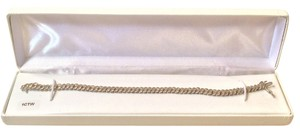 Other Sterling Silver and Diamond Accent Tennis Bracelet - 1 Ct