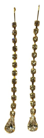 Preload https://item1.tradesy.com/images/other-gold-tone-dangle-crystal-earrings-4166995-0-0.jpg?width=440&height=440