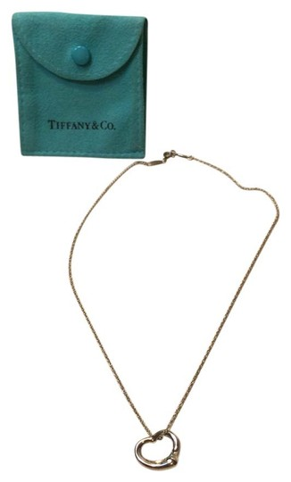 Tiffany & Co. Tiffany Elsa Peretti Open Heart Necklace