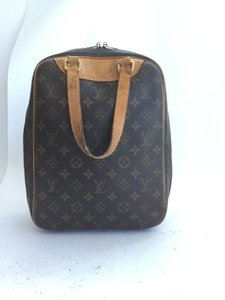 Louis Vuitton Excursion Travel Hand Monogram Travel Bag