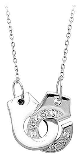Other Be Cuff You're a Villain Necklace 950 Platinum Plated