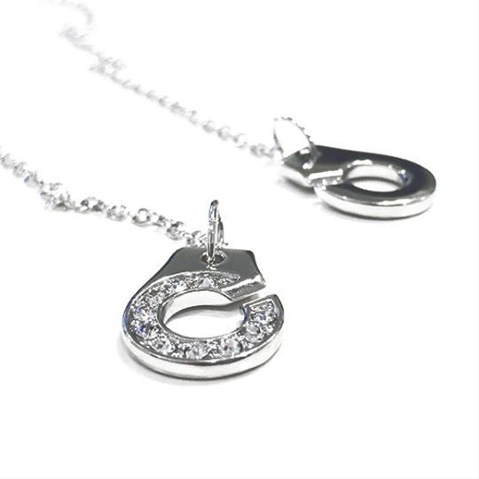 Titan Bliss Be Cuff You're a Villain Necklace 950 Platinum Plated