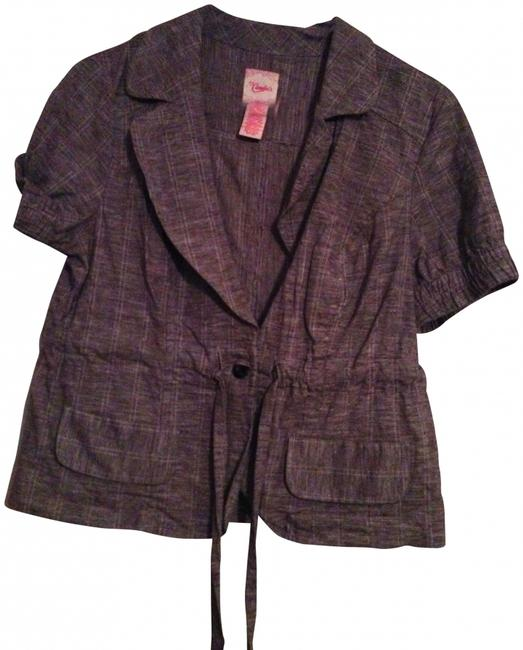 Preload https://item2.tradesy.com/images/candie-s-grey-blazer-size-petite-10-m-416746-0-0.jpg?width=400&height=650