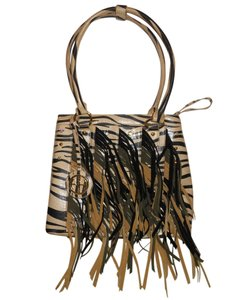 Other Studded Fringed Shoulder Bag