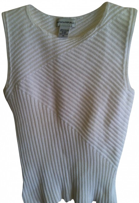 Banana Republic Top XS: White