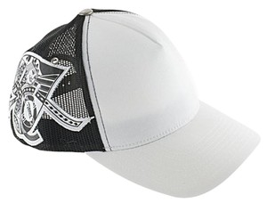 World Poker Tour World Poker Tour Hat, Trucker Hat, Ball Cap, White/Black.