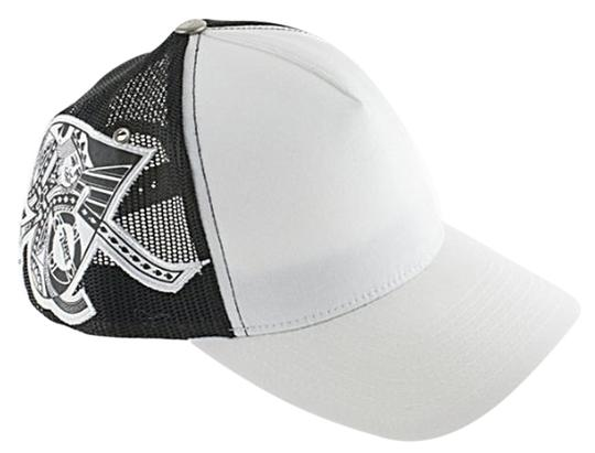 Preload https://img-static.tradesy.com/item/4167802/whiteblack-trucker-ball-cap-whiteblack-hat-0-0-540-540.jpg
