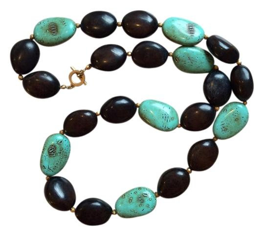 Preload https://img-static.tradesy.com/item/4167850/turquoise-and-brown-color-necklace-0-3-540-540.jpg