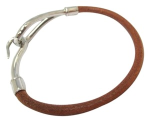 Hermès Hermès Leather Jumbo Bracelet