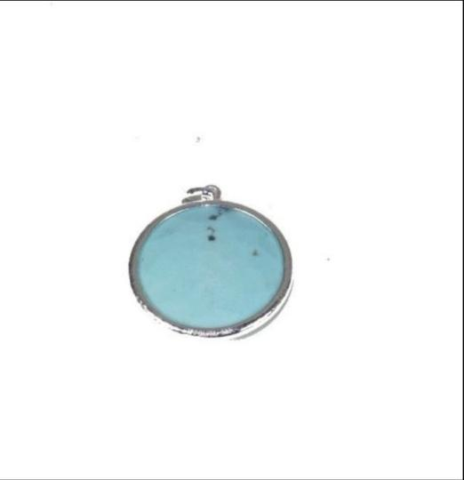 Ippolita IPPOLITA STERLING SILVER LARGE ROCK CANDY ROUND TURQUOISE ENHANCER