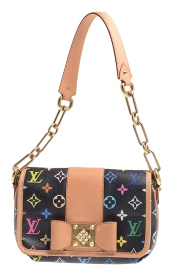 Louis Vuitton Patty Monogram Noir Monogram Patty Handbag Patty Wallet Handbag Wallet Necklace Choker Bracelet Shoulder Bag