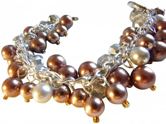 Other brown pearl glass beads pearl bracelet