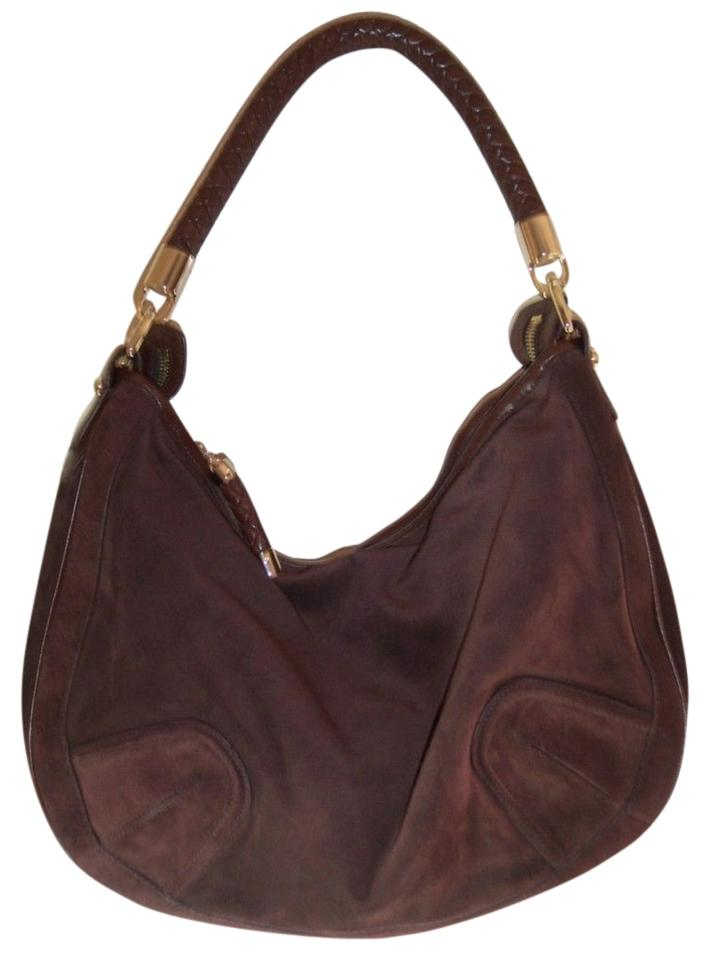 Very Bally Brushed Brown Suede Hobo Bag - Tradesy HH11