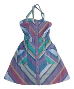 Urban Outfitters short dress Multi-color Rails Geometric Striped on Tradesy