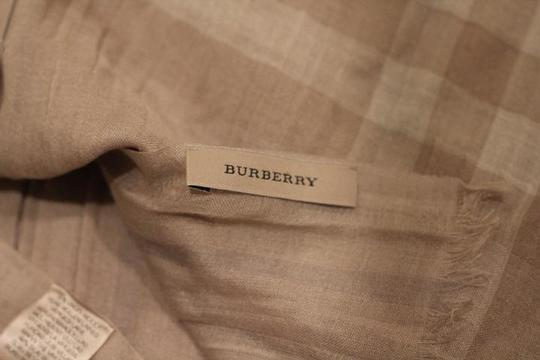 Burberry Burberry large light weight shawl
