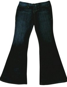William Rast Regular Rise Boot Cut Jeans-Dark Rinse