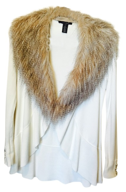 Preload https://item1.tradesy.com/images/white-house-black-market-faux-fur-cardigan-cream-4170565-0-0.jpg?width=400&height=650