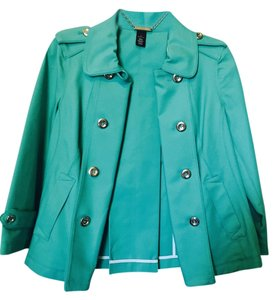 White House | Black Market Green Blazer