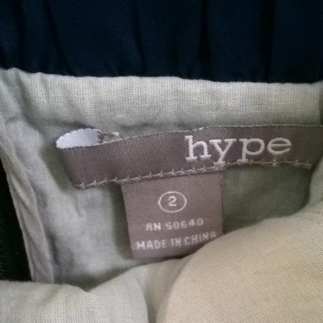 Hype short dress Navy Blue-grey on Tradesy