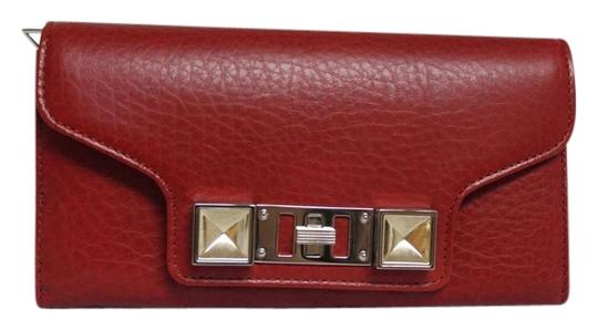 Proenza Schouler New Proenza Schouler Large PS11 Paprik Leather Wallet Clutch PS1