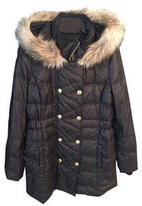 Juicy Couture Winter Faux Fur Fur Coat